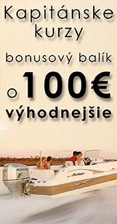 Vodca meleho plavidla, namorny kurz zlava 100 eur