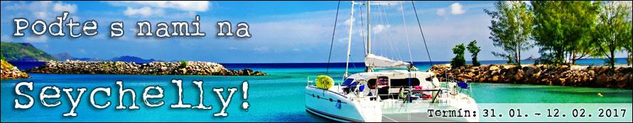 Poďte s nami na Seychelly!